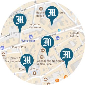 mappa edicole